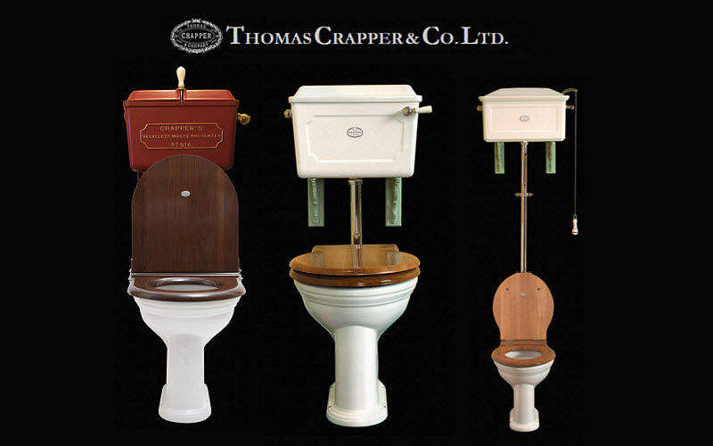 Thomas Crapper & Company WC Bodenfixierung WC & Sanitär Bad Sanitär  |