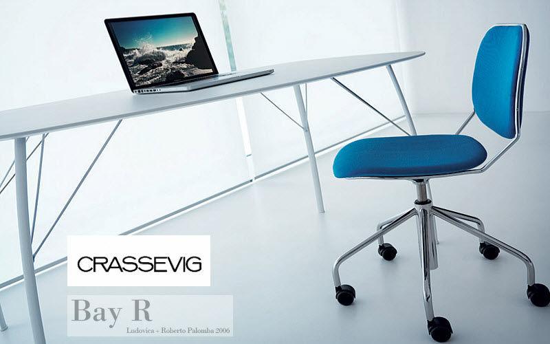 CRASSEVIG Stuhl mit Rollen Stühle Sitze & Sofas  |