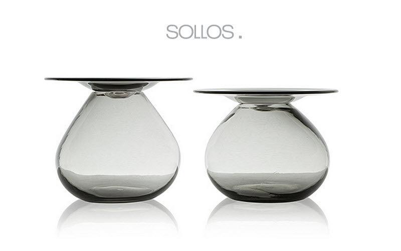 SOLLOS Runder Couchtisch Couchtische Tisch  |