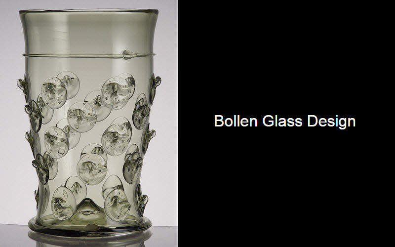 BOLLEN GLASS Glas in Orangeade Gläser Glaswaren  |