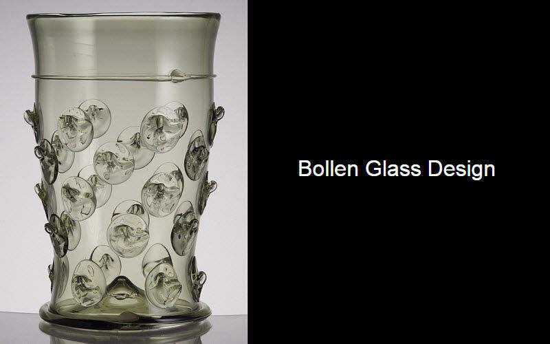 BOLLEN GLASS Glas in Orangeade Gläser Glaswaren  |