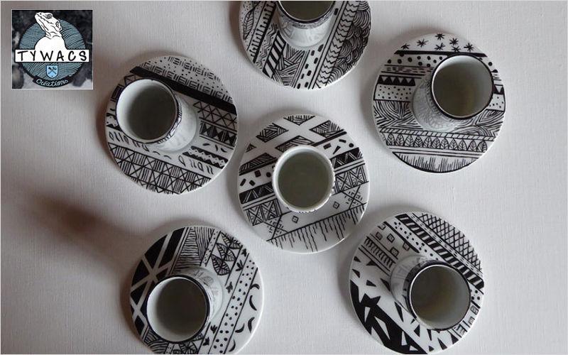 Tywacs Créations Kaffeetasse Tassen Geschirr  |