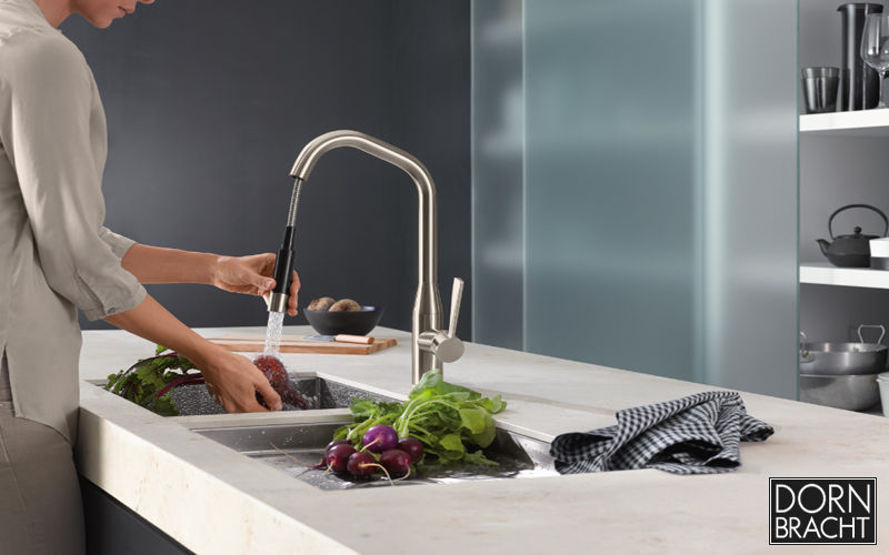 Dornbracht Küchenmischer mit Ausziehbrause Küchenarmaturen Küchenausstattung  |