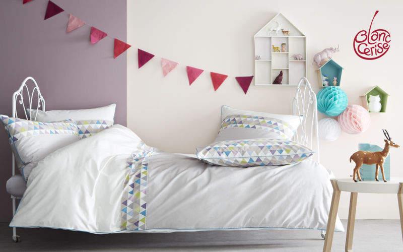 BLANC CERISE Kinder-Bettbezug Kinderbettwäsche Kinderecke   