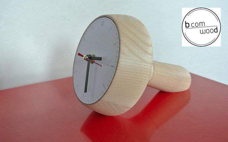 BCOMWOOD Tischuhr Uhren Pendeluhren Wecker Dekorative Gegenstände  |