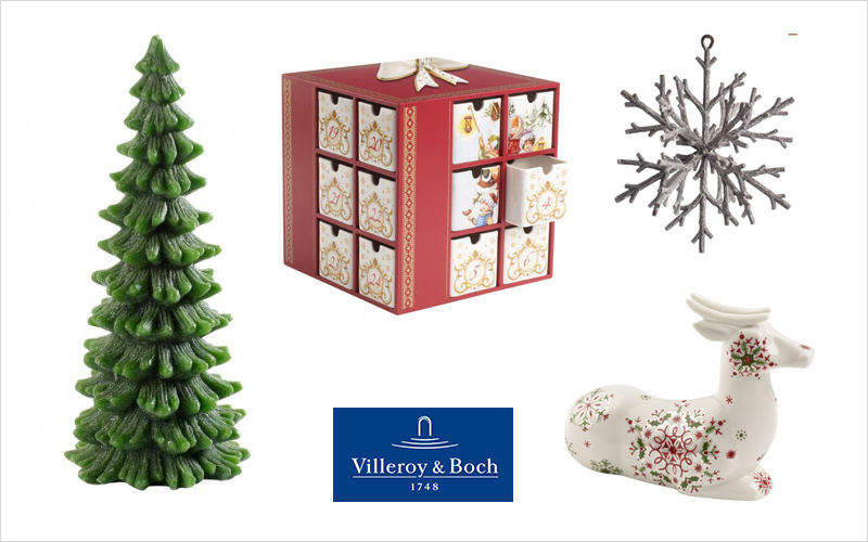 VILLEROY & BOCH Weihnachtstischdekoration Weihnachtsdekoration Weihnachten & Feste  |