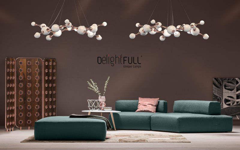 DELIGHTFULL Deckenlampe Hängelampe Kronleuchter und Hängelampen Innenbeleuchtung  |