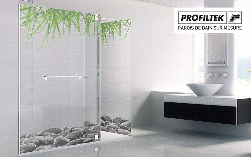 PROFILTEK Maßgeschneiderte Duschtür Dusche & Zubehör Bad Sanitär  |