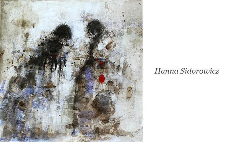 HANNA SIDOROWICZ Zeitgenössische Gemälde Malerei Kunst  |