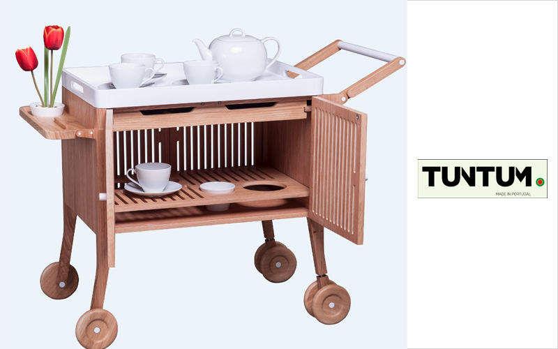 TUNTUM Teewagen Servierwagen Rolltische Tisch  |