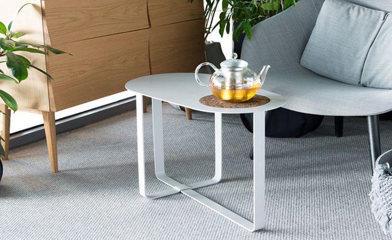 SUPERLIFE Couchtisch ovale Couchtische Tisch  | Design Modern