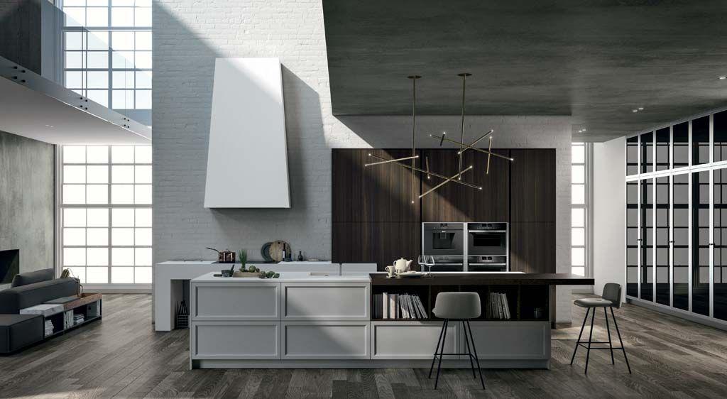 DOIMO CUCINE Moderne Küche Küchen Küchenausstattung  |