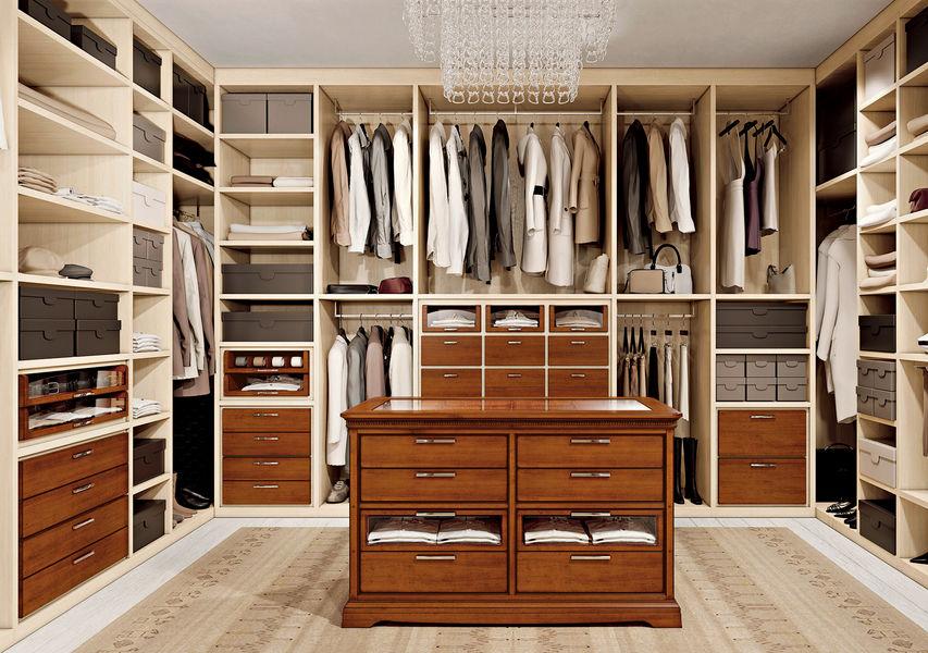 LE FABLIER Dressing in U Ankleidezimmer Garderobe  |