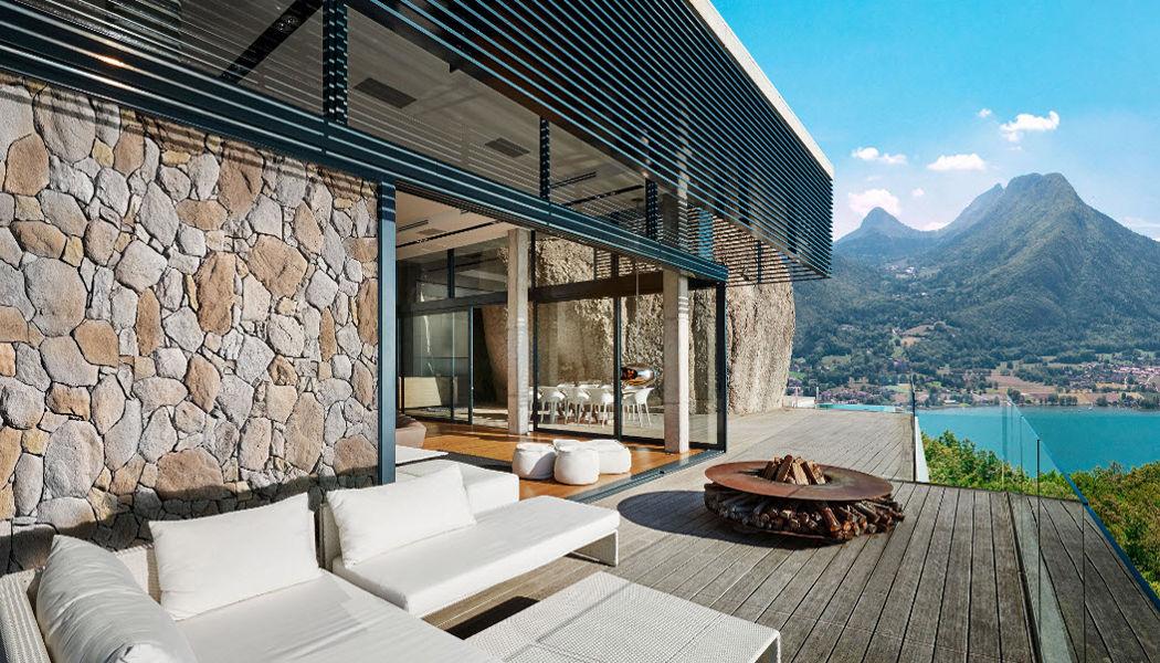 Orsol Klinker für Aussen Verkleidung Wände & Decken Garten-Pool | Land