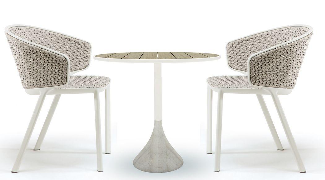 ETHIMO Bistrotisch Esstische Tisch  |