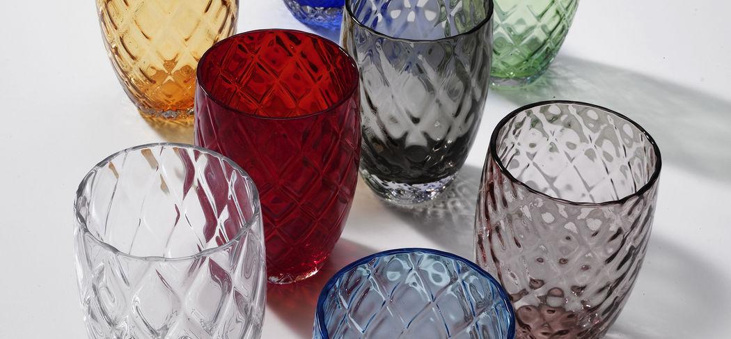 Zafferano Glas in Orangeade Gläser Glaswaren  |