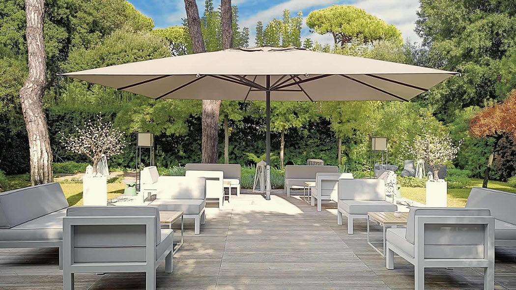 POGGESI Riesensonnenschirm Sonnenschirme Gartenmöbel  |