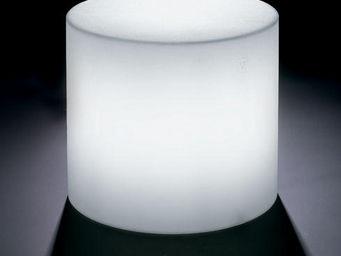 Lyxo by Veca - cosmos cilindro outdoor - Leuchtender Couchtisch
