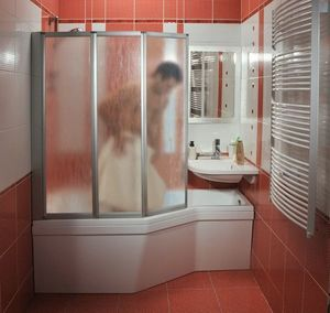 Kompaktes Badezimmer