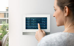 Touchscreen Haustechnik