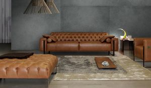 Calia Italia Chesterfield Sofa