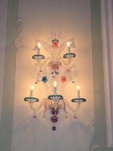 Turina Design  - Murano Lux Lighting - lampade a muro - applique wall lamp - Wandleuchte