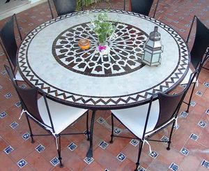 Decoracion Andalusia -  - Rundes Gartentisch