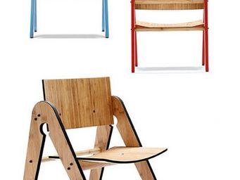 BUISJES EN BEUGELS - lilly's chair red - Kinderstuhl