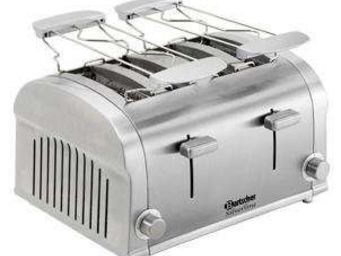FIGUI - grille pain inox 4 tranches - Toaster