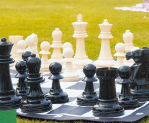 Traditional Garden Games - jeu d'échecs de jardin géant - Schach