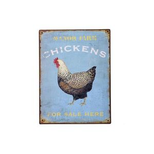 LONDON ORNAMENTS - manor farm metal sign - Reklameschild