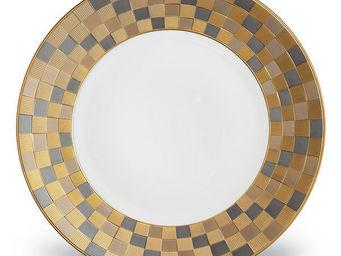 L'OBJET - byzanteum tri-color dinnerware - Flache Teller