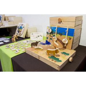ANIM'EN BOIS - coffret d'imagination anim'agine (3-7 ans) - Holzspiel