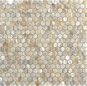 STUDIO VEGA - mopm-cr-hex - Wand Fliesenmosaik