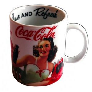 Avenue Of The Stars - mug pin-up coca-cola - Mug