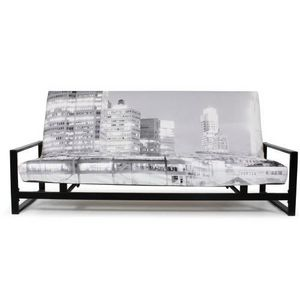 Futon Design - banquette futon new york 3 places - Klappsofa
