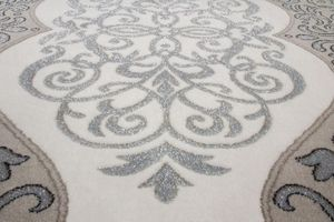 NAZAR - tapis empera 80x150 silver - Moderner Teppich