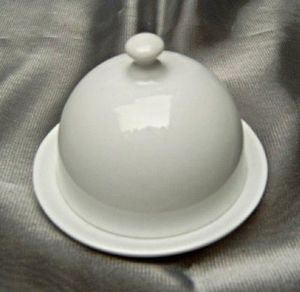 Porcelanne - mini beurrier cloche - Einzelne Butterschale