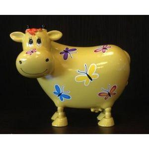 FAYE - tirelire vache jaune - Spardose