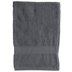 TODAY - serviette de toilette 50 x 90 cm - couleur - gris - Handtuch