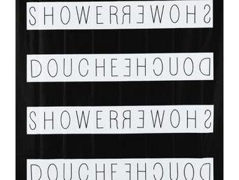 Opportunity - rideau de douche shower - couleur - noir - Duschvorhang
