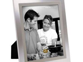 Present Time - cadre photo en acier - Fotorahmen