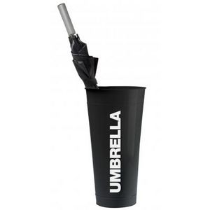 Present Time - porte-parapluie umbrella - couleur - noir - Schirmständer