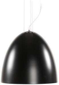 KOKOON DESIGN - lampe suspendue bell noire 40x40cm - Deckenlampe Hängelampe