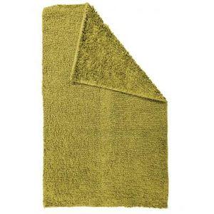 TODAY - tapis salle de bain reversible - couleur - vert - Badematte