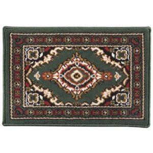 ILIAS - tapis de sol beijing vert 40x60 cm - Traditioneller Teppich