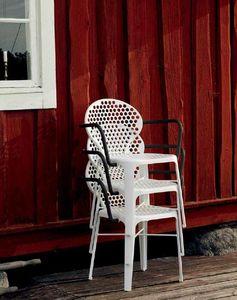 Triconfort - obló - Stapelbare Gartensessel