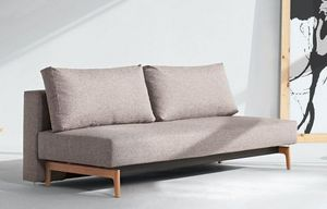 INNOVATION - trym canapé design gris convertible lit 140*200 cm - Bettsofa
