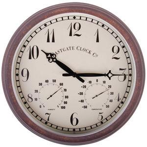 WORLD OF WEATHER - horloge thermomètre hygromètre extérieure - Wanduhr