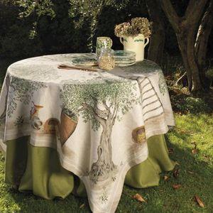 Tessitura Toscana Telerie -  - Viereckige Tischdecke